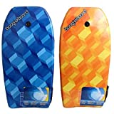 Boggie Board Fiber clad Body Board, 33' L, (Colors Vary)