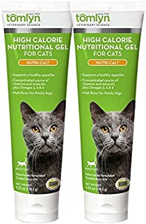 2-Pack Nutri-Cal for Cats High Calorie Dietary Supplement, 4.25-Ounce Tube