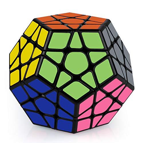 Coolzon Megaminx Cube, Zauberwürfel 3x3 Puzzle Cube Schneller und reibungsloser Würfel für Jungen und Mädchen