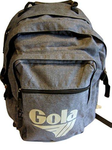 GOLA Zaino Brody 2 -Cub 231 Melange Black - h. 42x30x13 cm