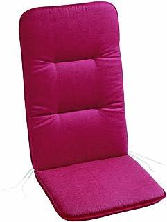 BEST 5201361 - Cojín para sillas, Color Rojo