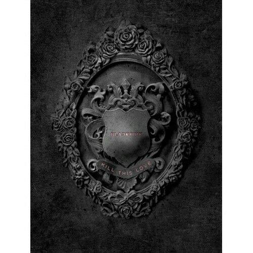 Blackpink - [Kill This Love] 2nd Mini Album Black Ver. CD+1p Poster/On+52p PhotoBook+16p Photo Zine+10p Accordion Lyrics Book+4p PhotoCard+1p Polaroid+Sticker SET+Tracking K-POP Sealed