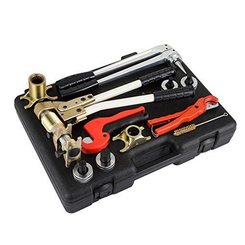 BuoQua PEX-1632 Schiebehülse Werkzeug Verbundrohr Schiebehülsenwerkzeug Presszange TH Kontur Von 16 20 26 32 MM Für Fittings
