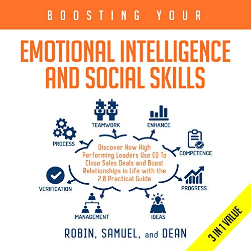 Boosting Your Emotional Intelligence and Social Skills audiobook cover art