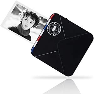 MMD Wireless Label Printer /Étiquette Pocket Portable Imprimante Mini Bluetooth /Étiquette Imprimante Thermique Home Office Papier dimprimante Color : Green Printer