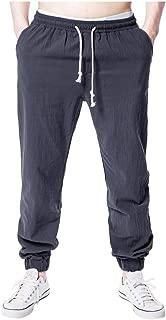Pantalones Hombre, Pantalones Rectos Suelto Pantalones Casuales Color Liso Pantalones De Venda Diario Pantalones Gym Outdoor Deportivo Mens Pantalones Slim Fit Pantalones De HaréN