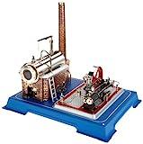 Wilesco 16 - Dampfmaschine D16 250 ml Kesselinhalt, inkl. Sicherheits-Ventil und Dom-Pfeife. -