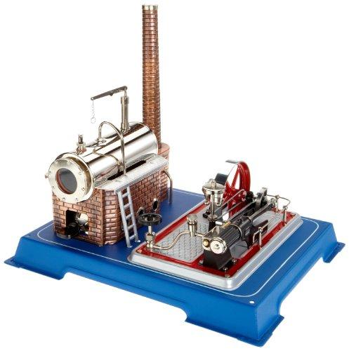 Wilesco 16 - Dampfmaschine D16 250 ml Kesselinhalt, inkl. Sicherheits-Ventil und Dom-Pfeife.