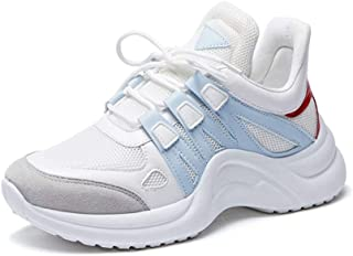 Paul Kevin Women's Casual Breathable Mesh Sneaker Lace Up Vulcanize Shoe