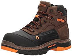 "Wolverine Men's Overpass 6"" Composite Toe Waterproof Work Boot"