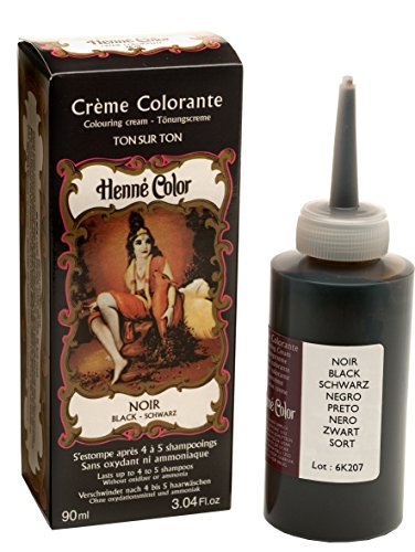 Henné Color Crème Colorante Noir 90 ml