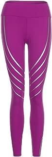 Women's Fashion Unique Reflective High Waist Leggings Sexy Tummy Control Workout Gym Yoga Pants
