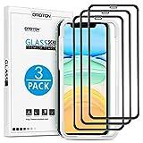 OMOTON [3 Stück] Full Screen Schutzfolie für iPhone 11 und iPhone XR mit...