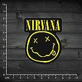YOUKU Folleto Nirvana Band Patrón clásico Pegatina para portátil Pegatina de Roca Pegatina Impermeable para Estuche