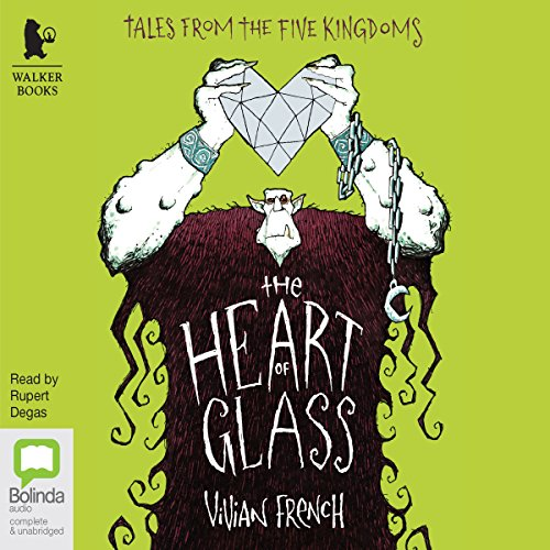 The Heart of Glass audiobook cover art