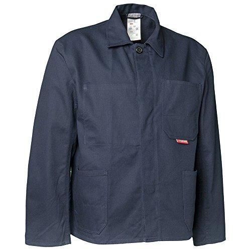 Planam BW270 trabajo chaqueta azul, todo el año, hombre, color hydronblau, tamaño 50