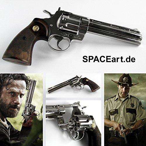 The Walking Dead: Rick Grimes Revolver, Fertig-Modell, 1/1 (Originalgröße, 28 cm)