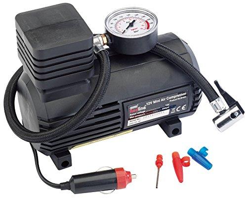 Draper redline 81023-12v mini compressore d'aria analogico