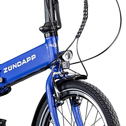 Zündapp Z101 Faltrad E-Bike 20 Zoll Klapprad Bild 6*