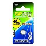 GP Batteries 040UP389C1 Uhren Batterie 389 (SR1130W) schwarz