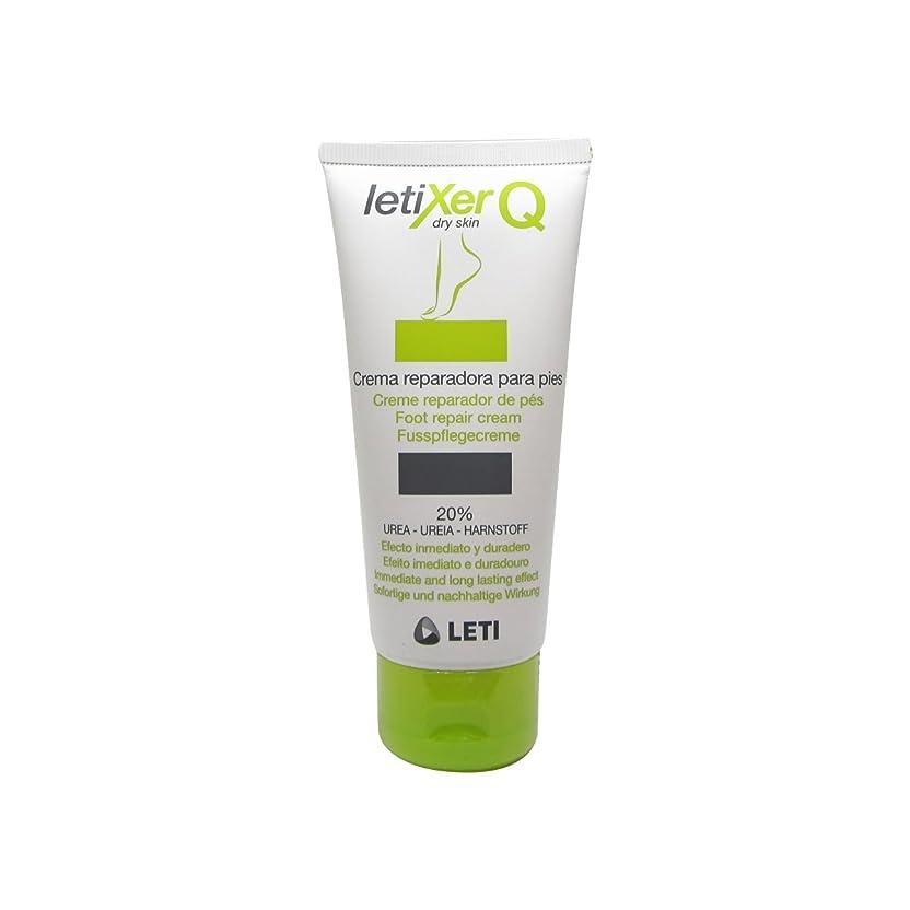 スノーケルルール別のLeti Letixer Q Foot Repair Cream 100ml [並行輸入品]