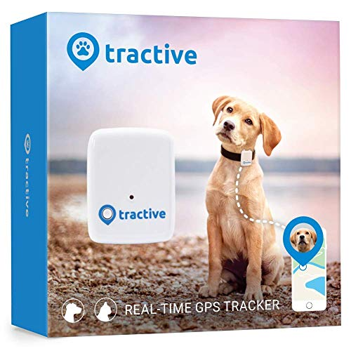 Tractive GPS Dog Tracker - Location Tracker with Unlimited Range