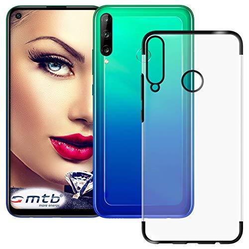 mtb more energy Funda TPU Elegance para Huawei P40 Lite E (6.39'') - Negro - Flexible - Frame Marco Case Cover Estuche