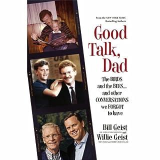 Good Talk, Dad audiobook cover art
