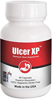 Ulcer XP- Stomach Ulcer Natural Supplement (60 Capsule)