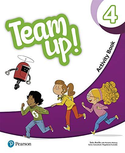 Team Up! 4 Activity Book Print & Digital Interactive Activity Book -Online...