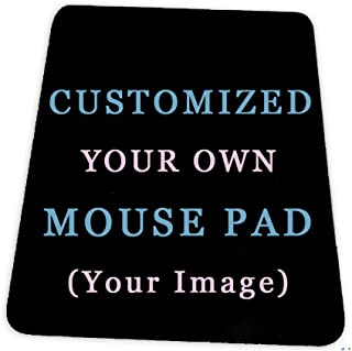 Custom Design Your Customized Non-Slip Mouse pad with Photo Text Logo for Gaming Office...