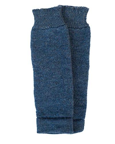 Hirsch Natur, Baby- und Kleinkind Krabbelschoner/Beinstulpen, 100% Wolle (Jeans, One Size)