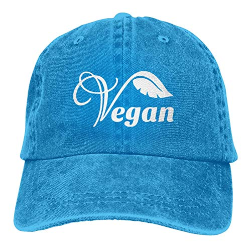 Lsjuee Gorra Vaquera Vegana Ajustable Casquetas Unisex Liso Sombrero Vaquero Negro