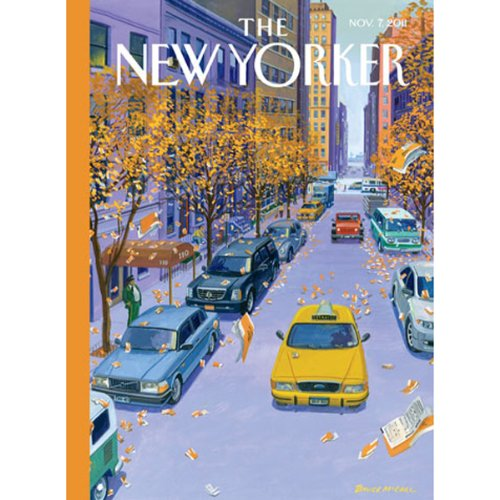The New Yorker, November 7th 2011 (James Wood, John Lahr, D. T. Max) audiobook cover art