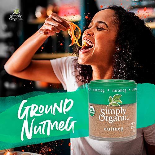 Product Image 2: Simply Organic Ground Nutmeg, Certified Organic | 0.53 oz | Myristica fragrans Houtt.