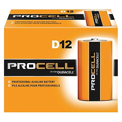 Duracell Procell Pc1300 Size D Alkaline Battery Bulk Case of 72