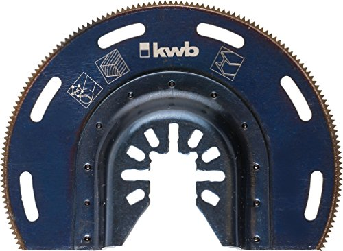 kwb Tauchsägeblatt halbrund Akku Top, schwarz, 709450