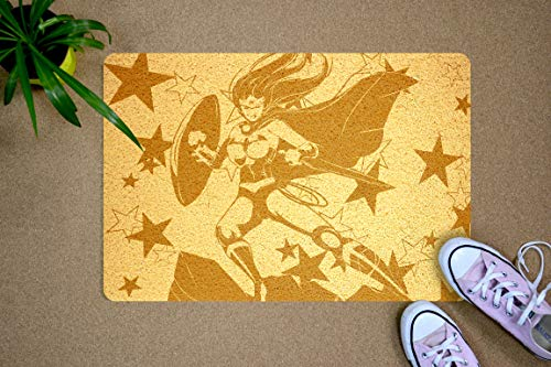 StarlingShop Felpudo diseño de Wonder Woman
