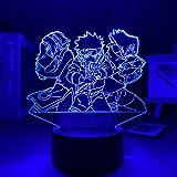 3D noche luz narutoed anime lámpara anime decoración manga día...