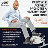 DeskCycle Under Desk Cycle, Pedal Exerciser - Stationary Mini Exercise Bike - Office, Home Equipment Peddler
