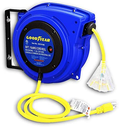 Up to 52% off Goodyear and ReelWorks Extension Cord Reels