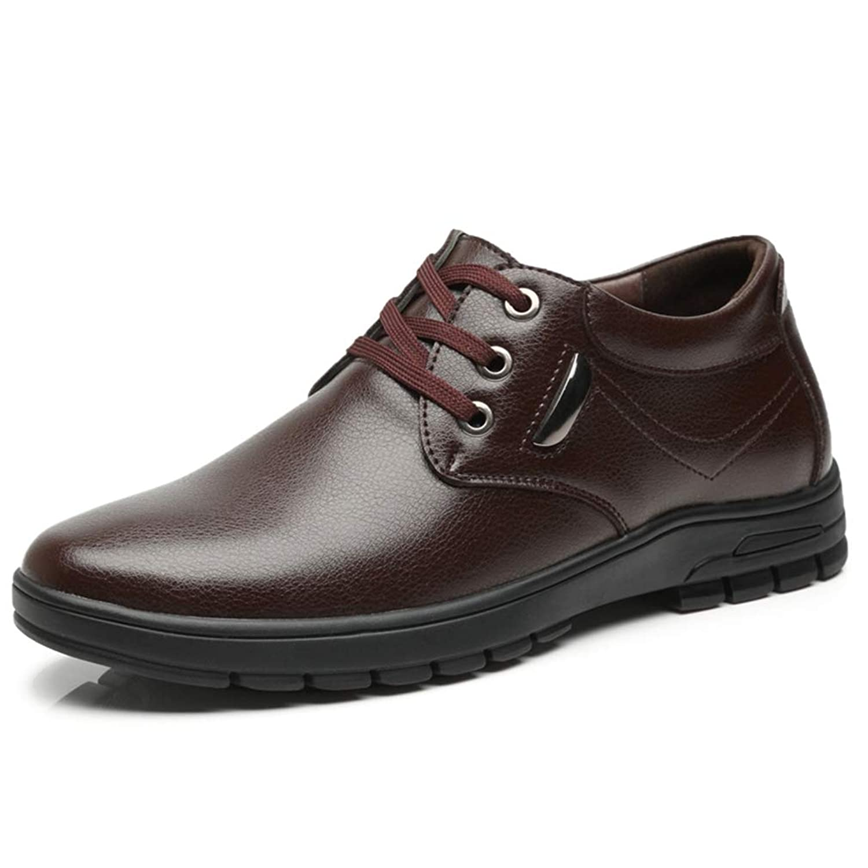 [WEWIN] シークレットシューズ カジュアルシューズ メンズ 革靴 5cm UP インヒール ビジネス スニーカー 靴 快適 通気 屈曲性