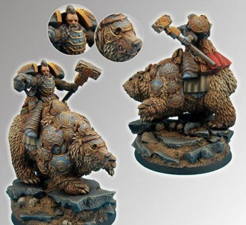 Scibor: 28mm Celtic SF Bear Rider #2