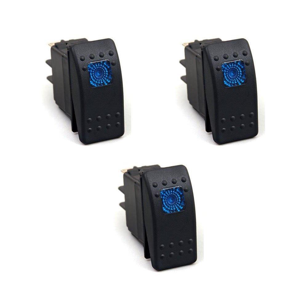 blue 12v switch 20 AMP max
