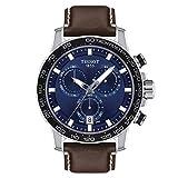 Tissot T125.617.16.041.00 T-Sport Men's Watch Brown 45.5mm Stainless Steel
