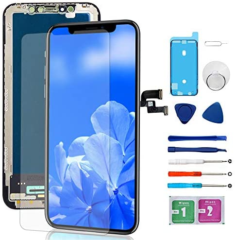 Compatible with iPhone X Screen Replacement OLED Display 3D Touch Screen Digitizer with Complete product image