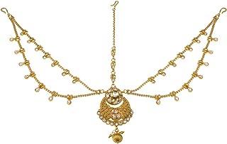 Best gold plated maang tikka online shopping Reviews