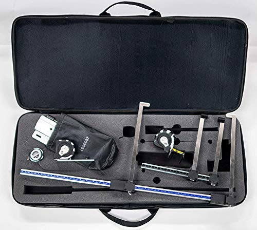 Purchase Cescorf Complete Anthropometry Kit with Scientific Skinfold Caliper, Aluminum Large Bone An...