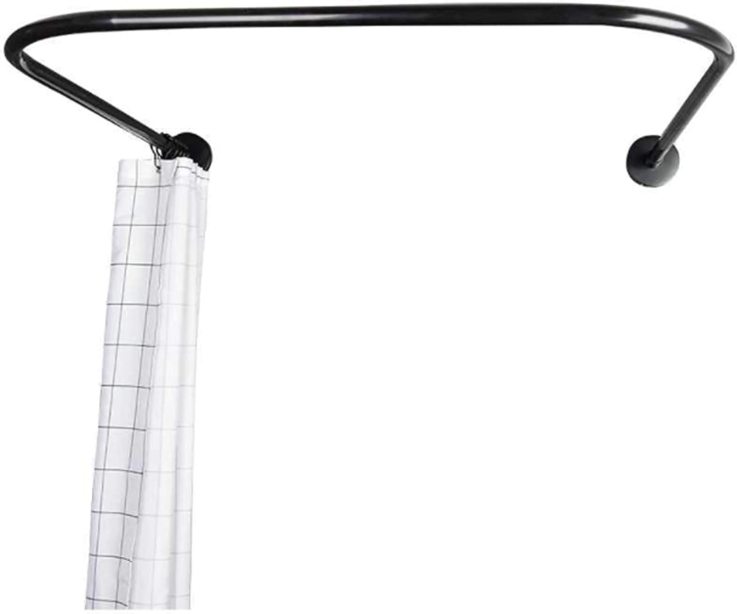 WSZYBAY Curved Shower Curtain Rod U Wall Shaped Mail order cheap Sale SALE% OFF Mounted Corner