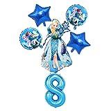 junfeng Globo Decoraciones de Fiesta de cumpleaños de Globos de Helio de lámina (Farbe : Set 19)